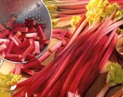 rhubarb Victoria crown