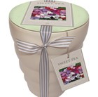 Sweet pea 'Sweetheart' and ceramic pot gift set