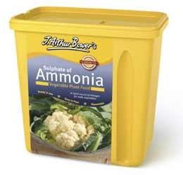 J. Arthur bowers sulphate of ammonia