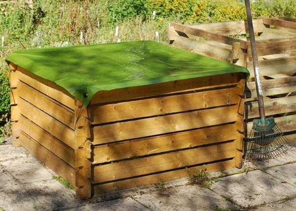 Compost box cover