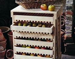 6 Drawer traditional apple rack - FSC beech