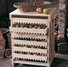6 Drawer Traditional Apple Rack - FSC Beech