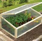 Hardwood cold frame
