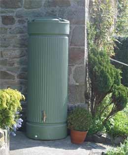 Column water butt 500 litres