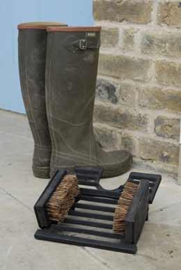 Cast-iron boot jack
