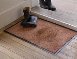 Black  large super absorbent wetgard doormat