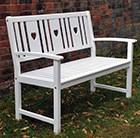 white-heart-bench