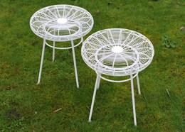 Pair of patio stools