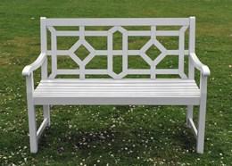 Woburn bench - cool grey