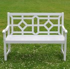 Woburn bench - cool grey