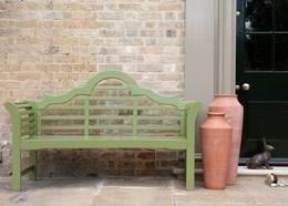 Lutyens bench - crocus green