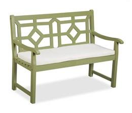 Natural cushion for woburn bench