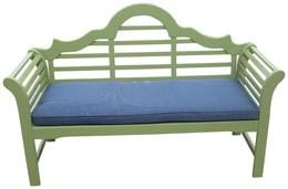 Lutyens bench cushion - navy
