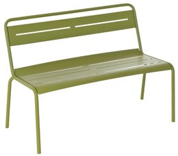 Florence bench - green