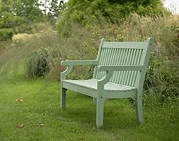 Milton wood effect bench