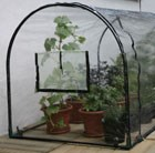 Grower frame polythene cover