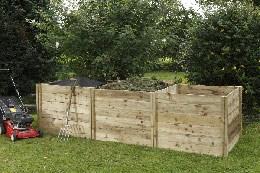 Slot down compost box extention kit