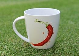 Chillies...hot stuff mug by Jamie Oliver