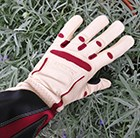 womens-tan-rose-gauntlet-gloves