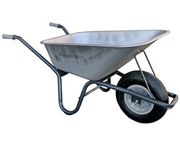 Galvanised Carrier Wheelbarrow