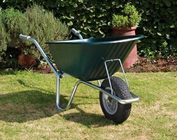 Green cruiser wheelbarrow