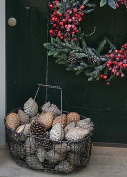 Wire garden basket