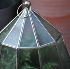 Nickel lantern cloche