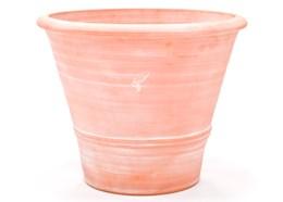 Terracotta olive pot