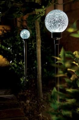 Solar border ball light