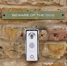 Plaque - Beware of the dog
