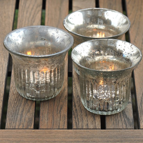 Vintage tea light holder