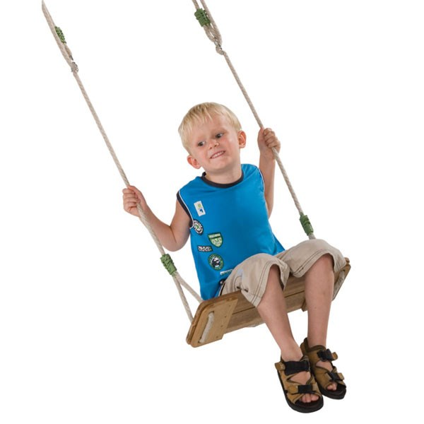 E-cool hardwood swing seat