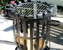 Vancouver steel firebasket