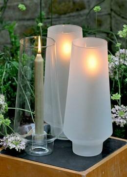 Hurricane conique foolen for candle