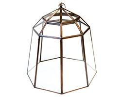 Deluxe lidded lantern cloche