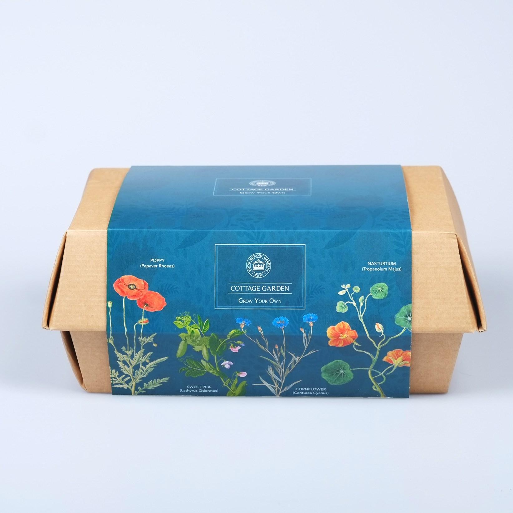 Kew grow your own cottage garden boxset