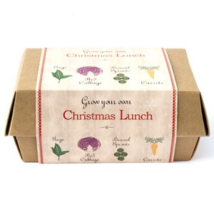 Kew grow your own christmas lunch