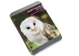 Adopt an owl gift