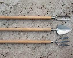 Sneeboer long handled hand fork
