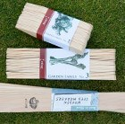 Wooden plant labels