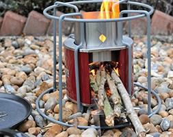EzyStove twig burning cooking stove