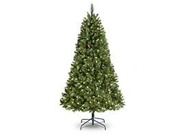 Stratton pine pre-lit